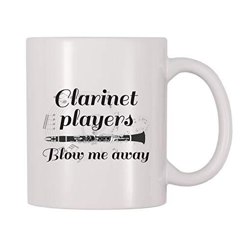 4 All Times Clarinet Players Blow Me Away Coffee Mug (11 oz)