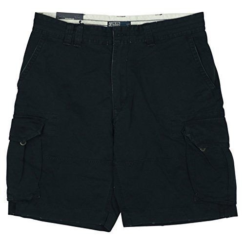 Polo Ralph Lauren Mens Chino Gellar Fatigue Shorts 38 Navy ()