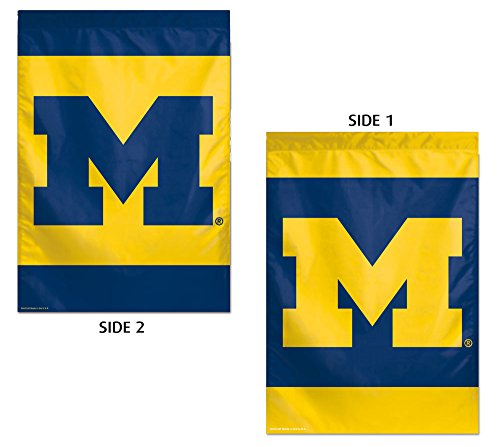 WinCraft NCAA University of Michigan 38076013 2 Sided Vertical Flag, 28'' x 40'' by WinCraft