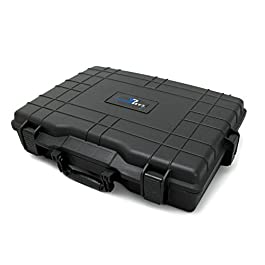 CASEMATIX 21″ PRO Decksaver Case For Production Studio Drum Controllers – Fits Native Instruments Maschine MK2 Groove, Maschine Mk3, MASCHINE JAM Production Grid Controller and More DJ Accessories