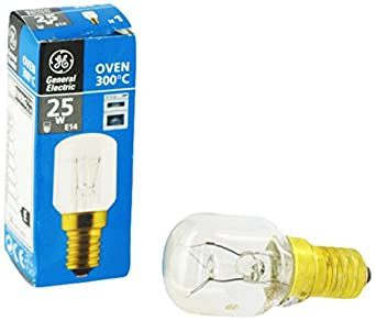 ge oven lamp bulb 25 w large appliances. Black Bedroom Furniture Sets. Home Design Ideas