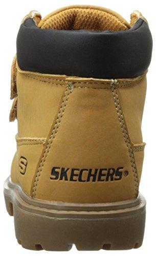 Skechers Mecca Sawmill, Jungen Ungefüttert Halbschaft Stiefel & Stiefeletten Braun (WTN)