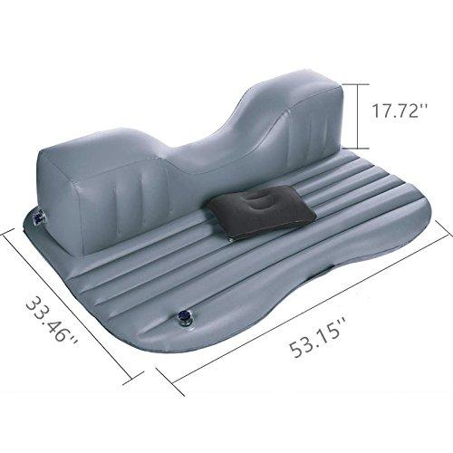 Amazon.com: ovovo colchón hinchable para coche con almohada ...