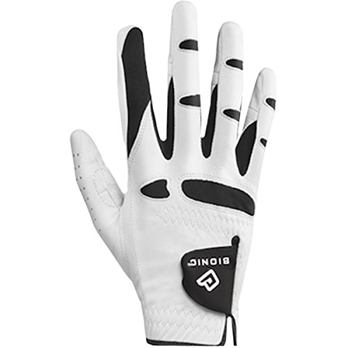 Bionic Stable Grip Golf Glove Natural Fit (Males's RIGHT, White) – DiZiSports Store