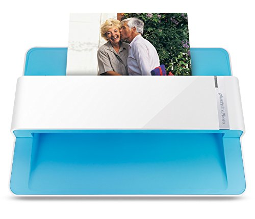 Plustek Photo Scanner - ephoto Z300, Scan 4x6 photo in 2sec, Auto Crop and Deskew with high quality CCD sensor. Support Mac and PC