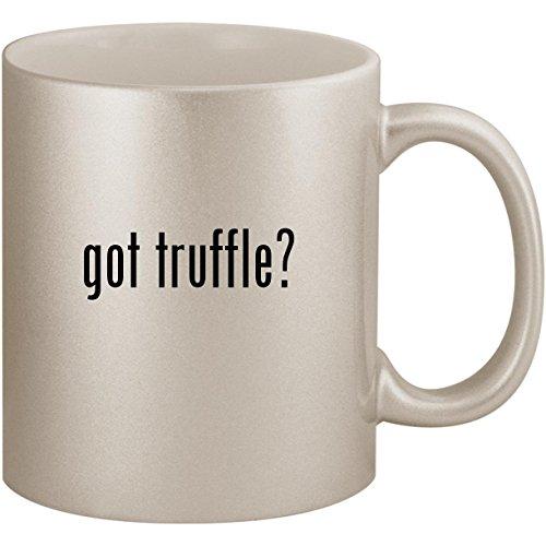 got truffle? - 11oz Ceramic Coffee Mug Cup, Silver