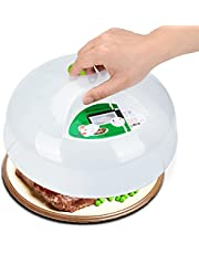 Microwave Plate Cover for Food 11.5 Inch Large Easy Grab Microwave Cover Splatter Guard Thick and Durable BPA
