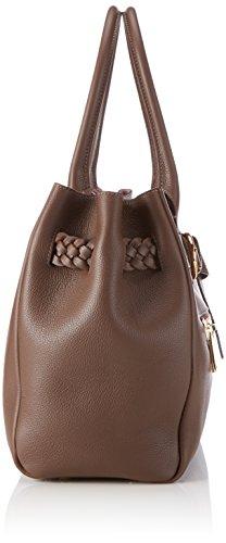 Bogner SALIA - Bolso de hombro de cuero mujer marrón - Braun (cacao 178)
