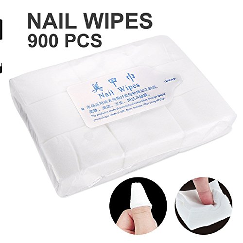 Yimart 900pcs/lot Nail Tools Nail Polish Remover Wipe Nail A