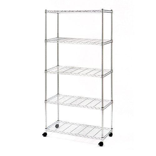 Review 5-Tier Shelving with Casters By POLET by POLET