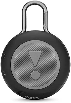 JBL CLIP 3 – Waterproof Portable Bluetooth Speaker – Black 41ALIQAzujL
