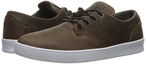 Shoes Skateboard ESWIC ROMERO EMERICA X BROWN LACED WHITE 5PqABT