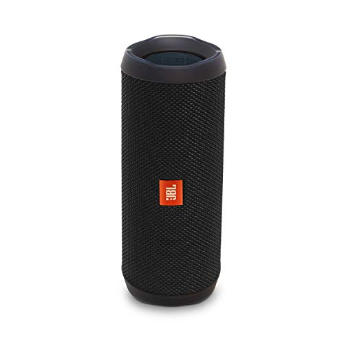 JBL Flip 4 Bluetooth Portable Stereo Speaker - Black (Best Bluetooth Speaker Bass 2019)