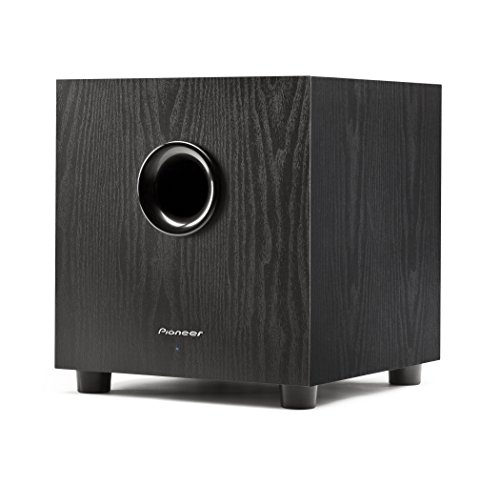 (Pioneer SW-8MKS 100W powered subwoofer for home theater)