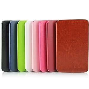 JJE Simple Fashion Ultrathin Intelligent Dormant PU Holster Case for Samsung Tab 3 7.0 T210/T211 , Green