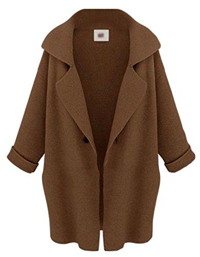 2 amp;S Collar Knit amp;W Notch Sweater Plus Women's Size Fashion M Cardigan PRaHqqdp