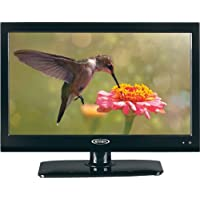 Jensen JTV1917DVDC 19 Inch RV LCD LED TV with Build-In DVD Player, High Performance Wide 16:9 LCD Panel, Resolution 1366 x 768, Integrated HDTV (ATSC) Tuner, HDTV Ready (1080p, 720p, 480p), 12V DC