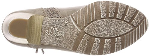 S.oliver Ladies 25308 Stivaletti Marrone (pettini Al Pepe)