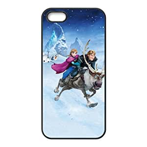 Frozen Princess Anna Kristoff Olaf Sven Cell Phone Case for Iphone 5s