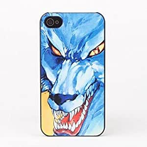 DUR Wolf Style Protective Back Case for iPhone 4/4S