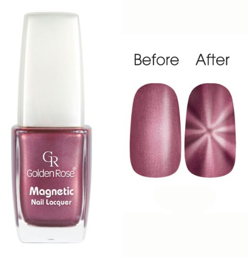Golden Rose Magnetic Nail Lacquer