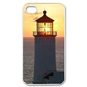 Lighthouse Unique Fashion Printing Phone Case for Iphone 4,4S,personalized cover case ygtg545348