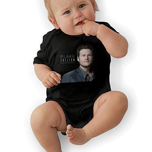 sretinez Toddler Blake Shelton God Gave Me You Climbing Bodysuit Black -