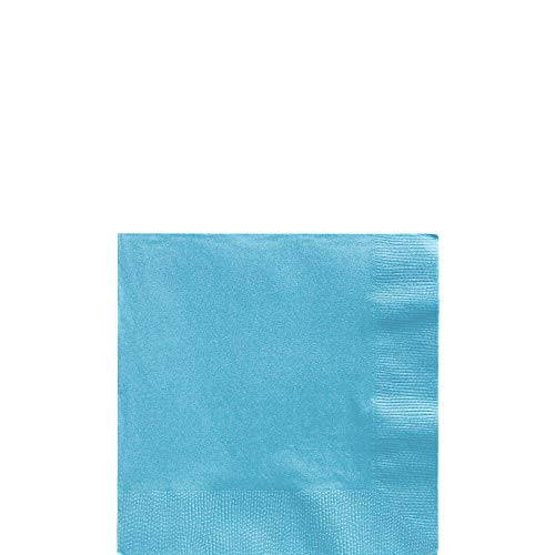 Big Party Pack Caribbean Blue Beverage Paper Napkins, 125 Ct.