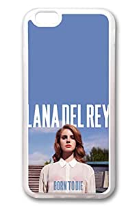 iPhone 6 Case, iPhone 6 Cases - Top Quality Clear Soft Case for iPhone 6 Lana Del Rey Born To Die Stylish Crystal Clear Rubber Case Cover for iPhone 6 4.7 Inches