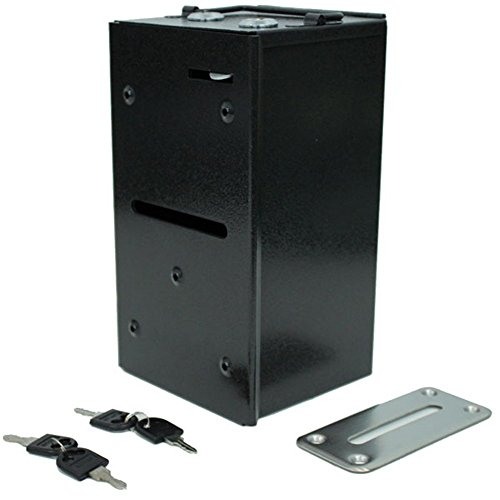 Brybelly Home Style Steel Rake Toke Box with Free Bill Slot