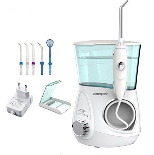 Lucktao Dental Water Flosser Oral Irrigator Waterpick Dental110V-220V Floss Water Irrigation Dental Tooth Floss V600g