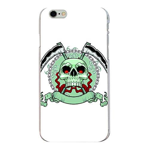 """Disagu Design Case Coque pour Apple iPhone 6s Plus Housse etui coque pochette """"Killer Schädel weiss"""""""