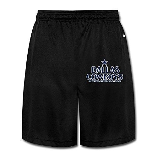 M07H Men's Geek Dallas City Footbal Cowboys Shorts Black Size XL (Dallas Cowboys Shorts)