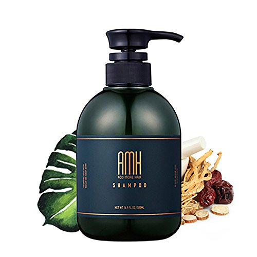 [Kolmar]AMH Add More Hair Hair Energizing Shampoo 17.6oz 2EA/Clinically Proven/FDA Certified by Kolmar