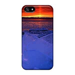Excellent Design Sunset Case Cover For Iphone 5/5s