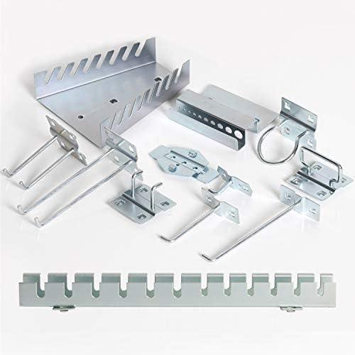 TANKSTORM Deluxe Accessory Kits for Back Panel of TZ12A TZ15A TZ35 TZ37 Tool Cart GGTCO1