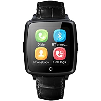 JetChef Bluetooth Smart Watch with Camcorder and Speakerphone Message Notification for Android