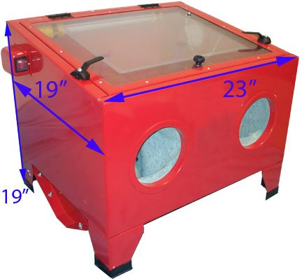Abrasive Sandblaster Cabinet With Light by Generic (Image #1)