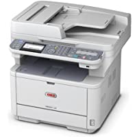 Okidata MB491 62438801 Multifunction Monochrome Printer with Scanner, Copier, and fax