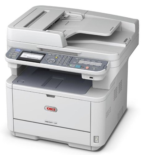Okidata-MB491-62438801-Multifunction-Monochrome-Printer-with-Scanner-Copier-and-fax