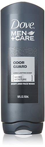 Dove Men + Care cuerpo y lavado de cara, protector de olor, 18 oz