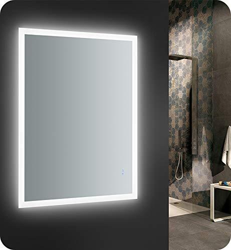 Fresca Angelo 48 inch Wide x 36 inch Tall Bathroom Mirror w/Halo -