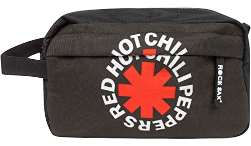 Rock Sax Red Hot Chili Peppers Washbag (Red Hot Chili Peppers Snow Guitar Notes)