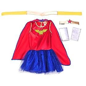 Rubie's Justice League Child's Wonder Woman Tutu Dress – Small