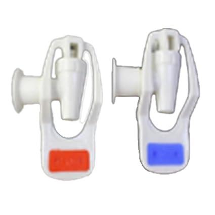 TOOGOO (R) repuesto dispensador de agua Empuje Tipo plástico ...