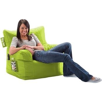 Merveilleux Big Joe Bean Bag Chair | Easily Cleaned, Waterproof Bean Bag Chair (Spicy  Lime