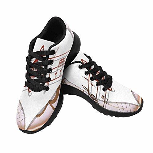 Scarpa Da Jogging Leggera Da Donna Running Jogging Leggera Andare Easy Walking Sport Running Scarpe Da Corsa Multi 7