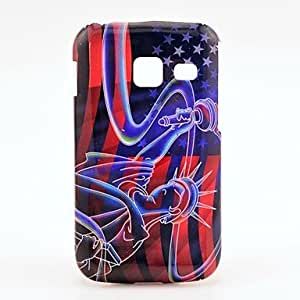 ZCL US Flag Statue of Liberty Hard Case for Samsung Galaxy Y Duos S6102