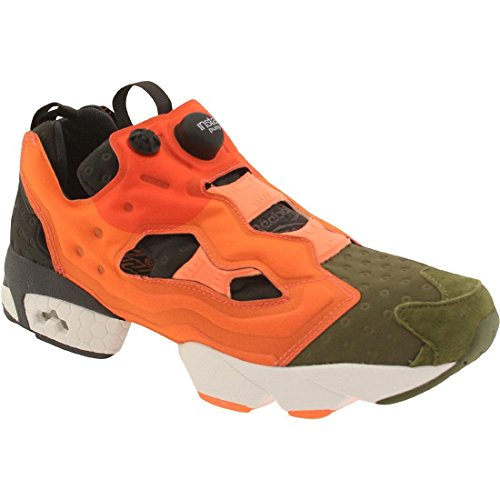 Peach Insta peach Asymmetrical Pump Mens green canopy Red Fury Reebok Synthetic Canopy 5wAYHFq