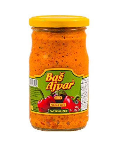 (Bas Ajvar Mild Red Pepper Vegetable Spread 10.2oz)
